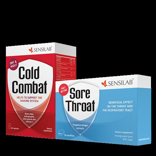 Cold Combat + Sore Throat GRATIS