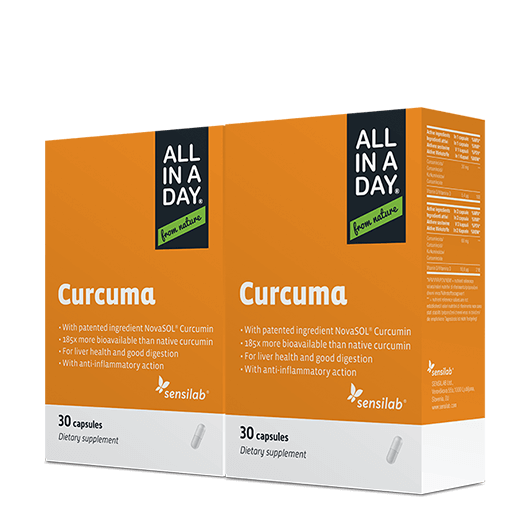 Curcuma Formula migliorata - 1+1 GRATIS